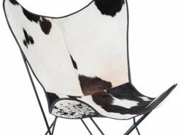 J-Line Vlinderstoel koevel