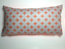 Made by Mimi Cushion print orange