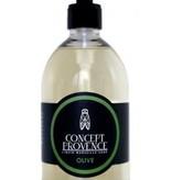 Concept de Provence Vloeibare zeep met natuurlijk parfum Olijf
