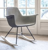 Lyon Béton Hauteville concrete rocking chair