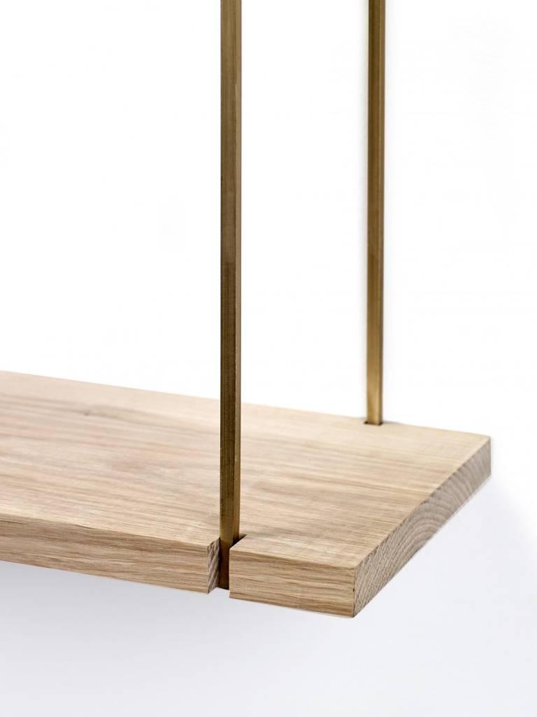 Serax Shelf oak Gold S