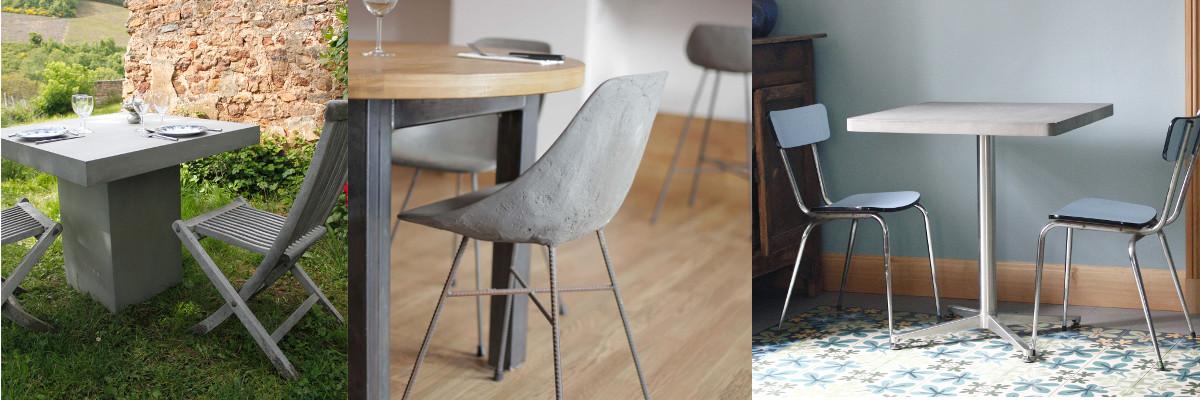 lyon beton tafels en stoelen