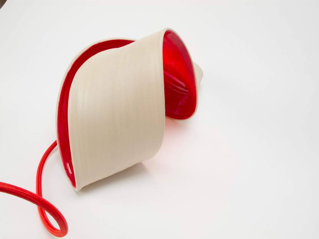 Atelier Oker Handgemaakte tafellamp keramiek