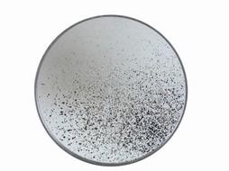 Notre monde Round aged mirror 48cm - Clear