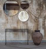 Notre monde Large Round Aged Mirror