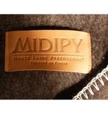 Midipy Blanket Chocolat 100% wool