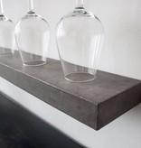 Lyon Béton Sliced concrete shelf S