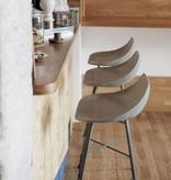 Lyon Béton Hauteville Concrete bar-chair