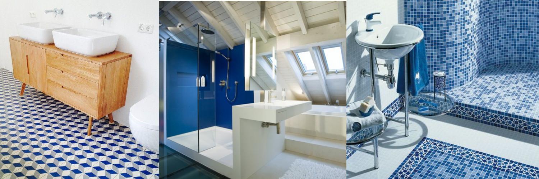 badkamer blauw