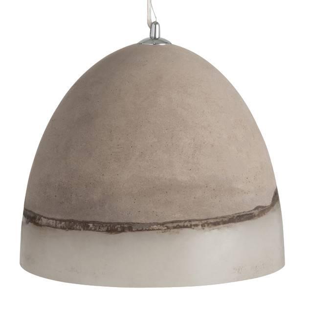 J-Line Hanging lamp Concrete small