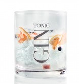 J-Line Gin glass tumbler low