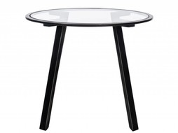 J-Line Side table Glass- Metal