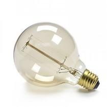 Un Esprit en Plus Draadlamp goudgeel met schakelaar