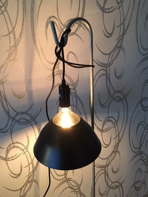 Un Esprit en Plus Flexible lamp fabric cable Black