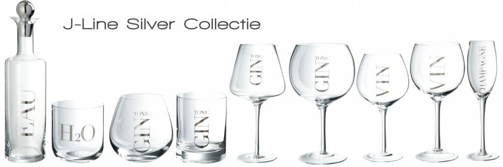 J-Line Red wine glass