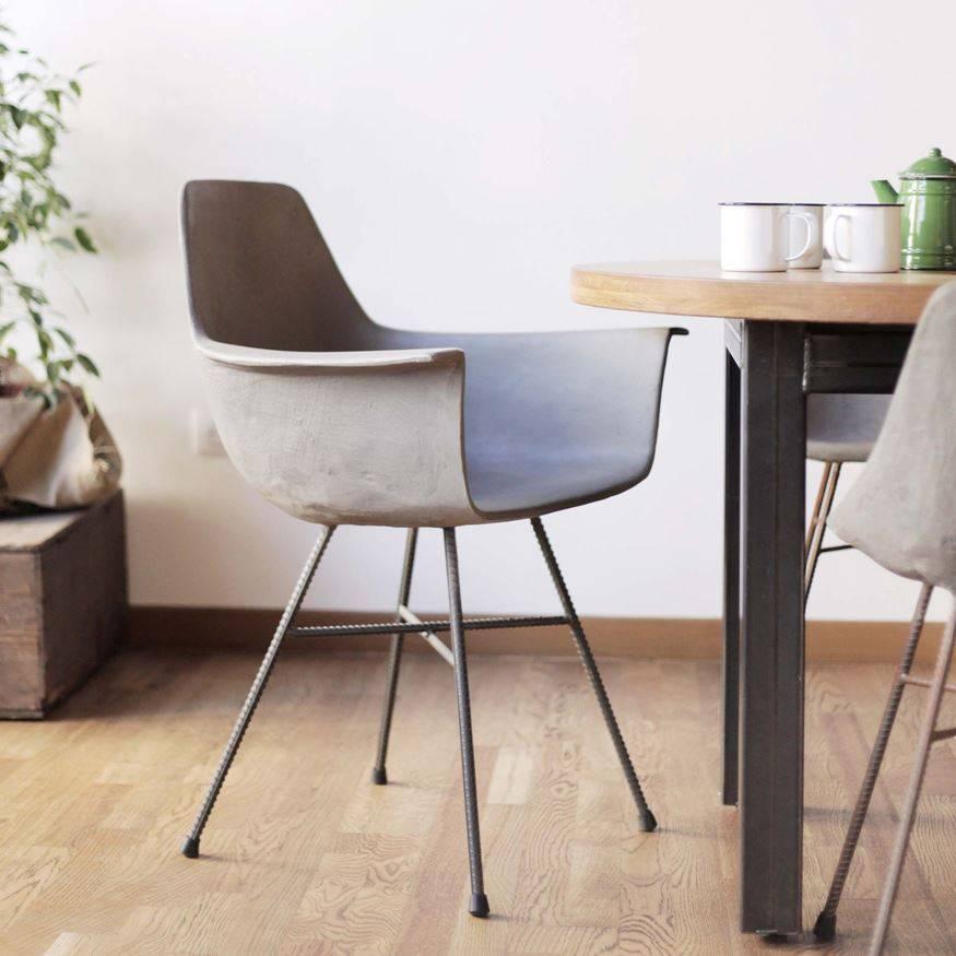 Lyon Béton Hauteville concrete armchair