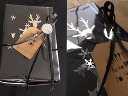 Nieuwjaars cadeauverpakking