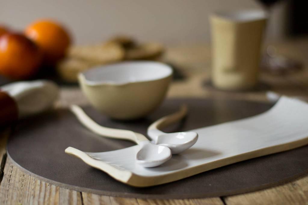 Atelier Oker Langwerpig bord