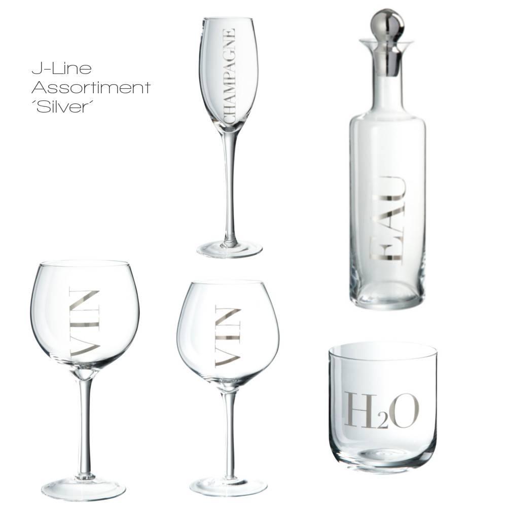 J-Line Wijnglas wit