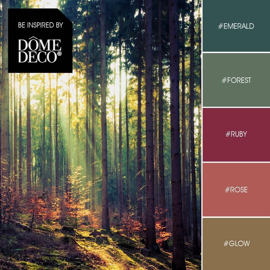 Dome Deco Plaid moss-green