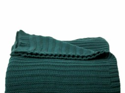 Dome Deco Knitted plaid Green
