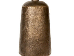 Dome Deco Iron Vase Brons