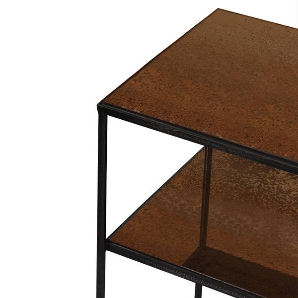 Notre monde Sofa Console Bronze Copper Leaf