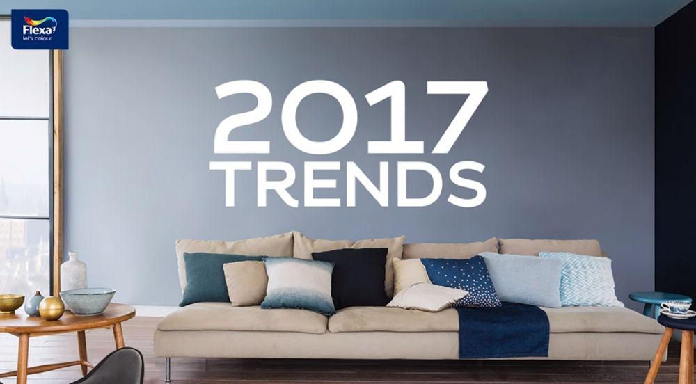 Kleuren van het jaar 2017