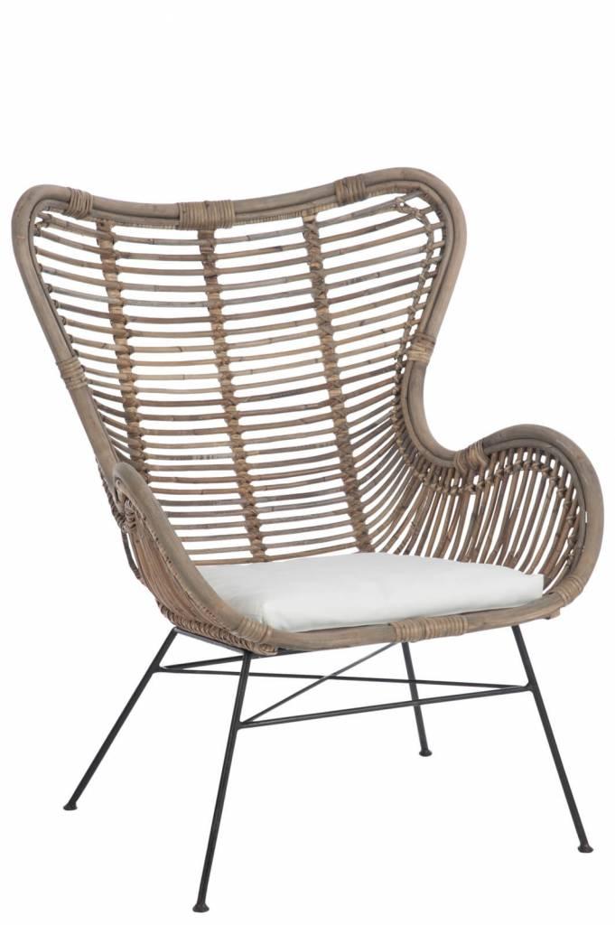 Lounge stoel rotan de perfecte relaxplek la boutique blanche - Comfortabele lounge stoel ...