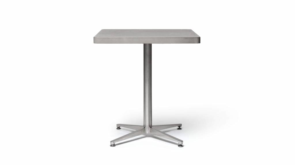 Lyon Béton Edge Bistro square dining table