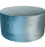 Dome Deco Stool round Turquoise