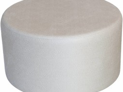 Dome Deco Poef rond cream
