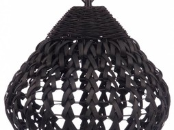 J-Line Hanglamp Korf zwart