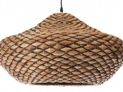 J-Line Pendant natural rattan big