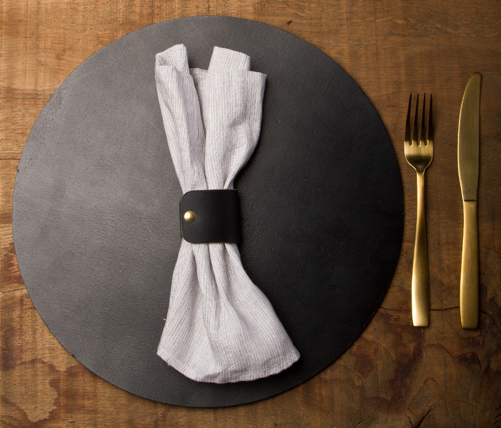tableware collection black