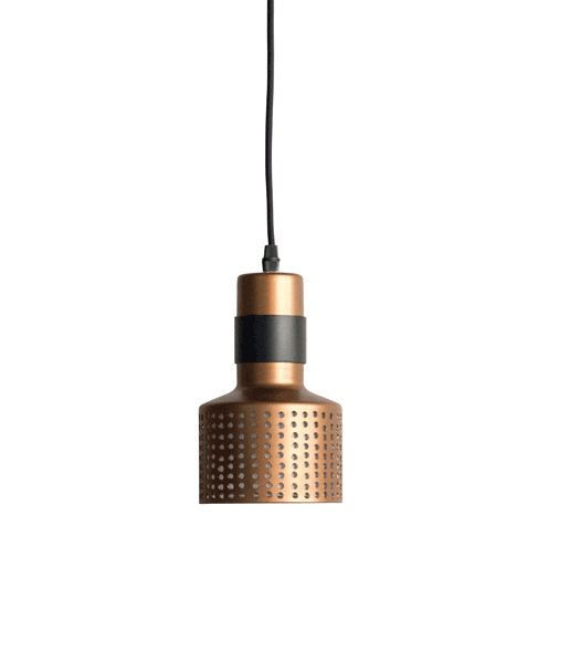 Dome Deco Hanglamp single koper