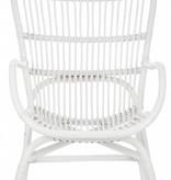 J-Line Rocking Chair Rotan white