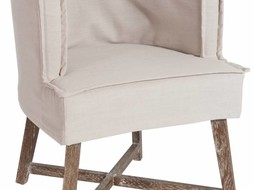 J-Line Chair La Croix white
