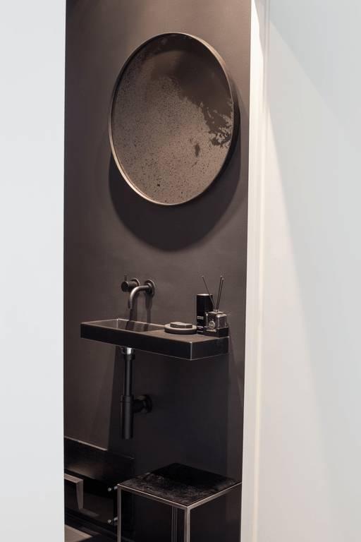 Notre monde Ronde spiegel 61 cm - Brons