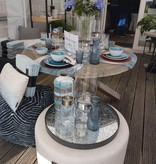 Dome Deco Waterkan of vaas blauw