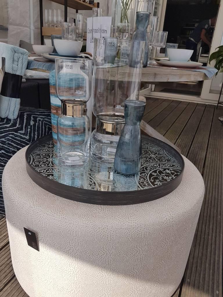 Dome Deco Vase glass Copper