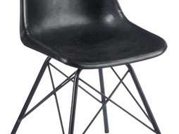 J-Line Black chair