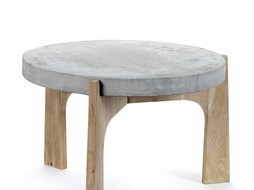 Serax Side table Concrete & Oak