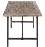 J-Line Dining table 'Woodcarving'