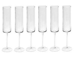 Dome Deco Champaign glasses - set 6