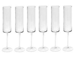 Dome Deco Champaign glasses - set 6