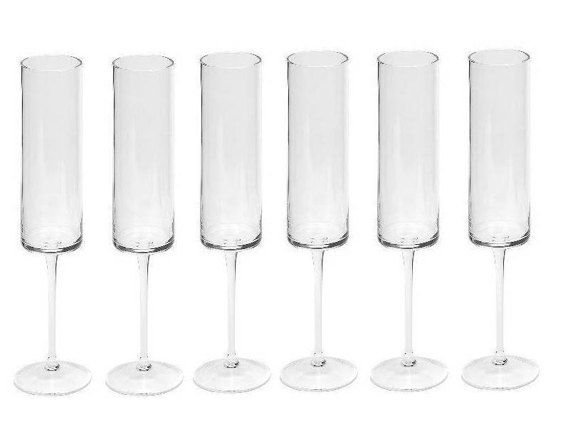 Dome Deco Champagneglas - set 6
