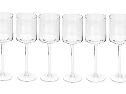 Dome Deco White wine glasses - set of 6