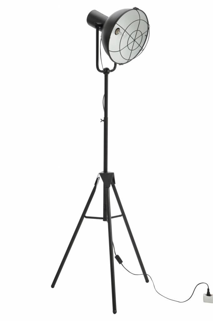 J-Line Floor lamp Industrial black