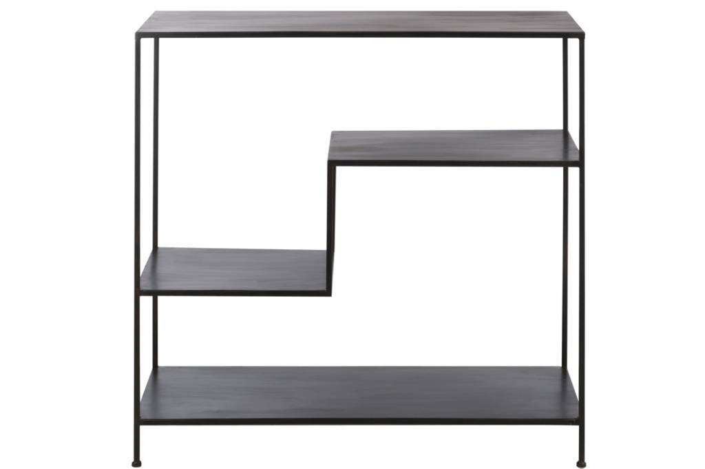 J-Line Metal design shelf unit